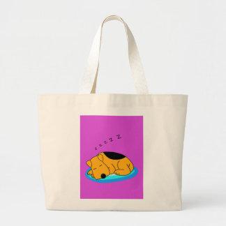 O bolsa ressonando do jumbo do cão de Airedale