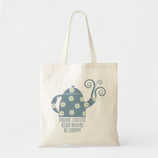 O bolsa retro: Beba o café, leia livros, esteja