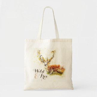 O bolsa reusável selvagem & livre dos cervos   da