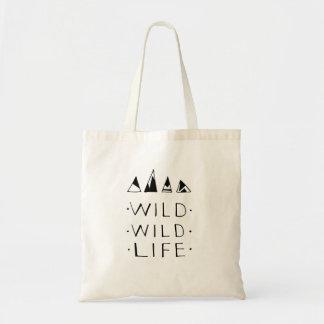 O bolsa selvagem selvagem da vida