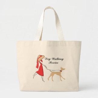 O bolsa Snazzy do caminhante do cão