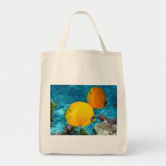 O bolsa subaquático da vista