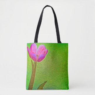 O bolsa surreal da tulipa