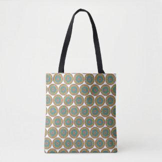 O bolsa tribal do azulejo de mosaico da mandala