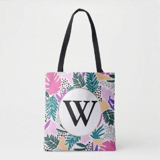 O bolsa tropical colorido do teste padrão do