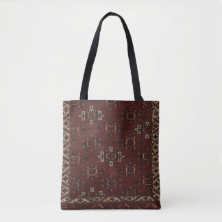 O bolsa turquemeno principal do tapete de Yomut
