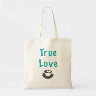O bolsa verdadeiro do café do amor