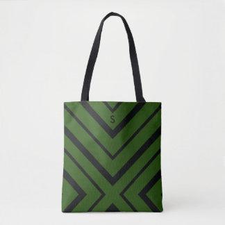 O bolsa verde do viagem do diamante do safari