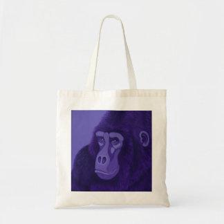 O bolsa violeta do gorila