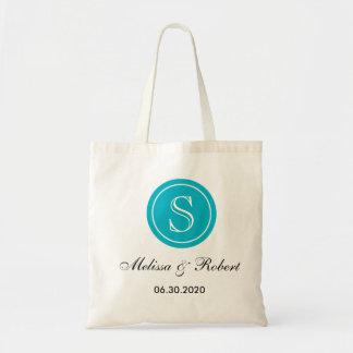 O bolsa Wedding personalizado Bag Turquoise do