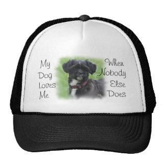 O boné com o Shorty- personalizar-adiciona seu cão