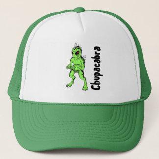 O boné de beisebol de homens verdes de Chupracabra