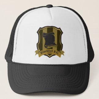 O boné do camionista do logotipo da lista negra FC