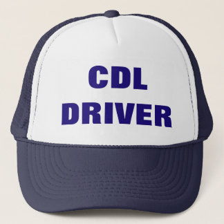 O boné do camionista do MOTORISTA de CDL
