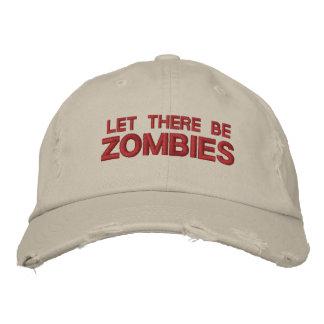 """O boné """"olhar vestido"""" deixou lá seja zombis"""