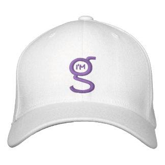 O boné w do Cabo-Ajustado eu sou logotipo de G