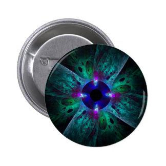O botão da arte abstracta do olho (redondo) bóton redondo 5.08cm