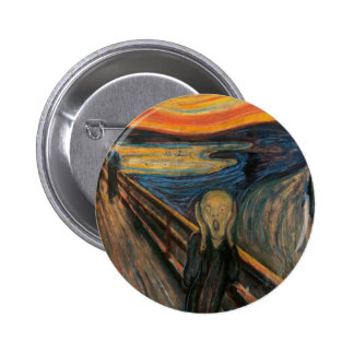 O botão do gritar bóton redondo 5.08cm