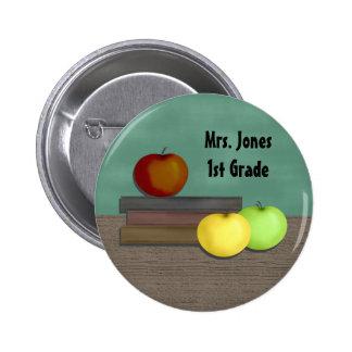 O botão do professor botons