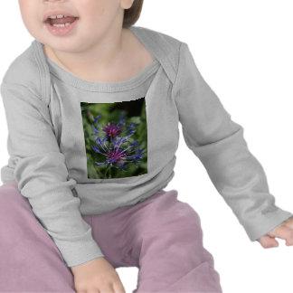 O botão do solteiro floresce o t-shirt infantil