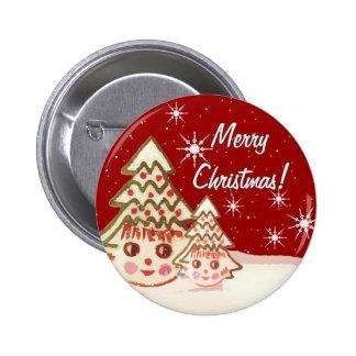 O botão o mais bonito do Natal - nunca Botons