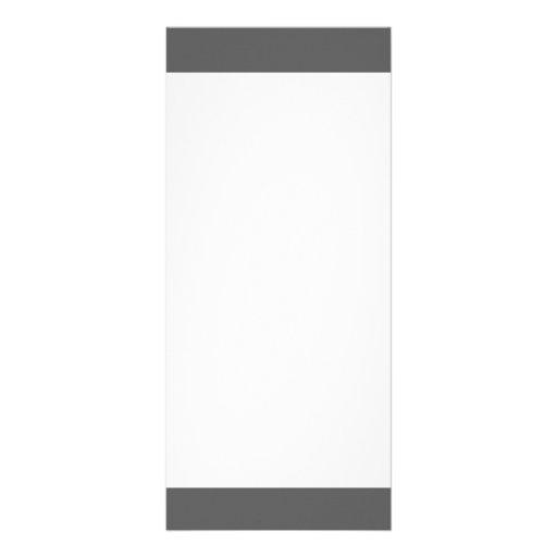 O branco cinzento moderno de carvão vegetal listra planfeto informativo colorido