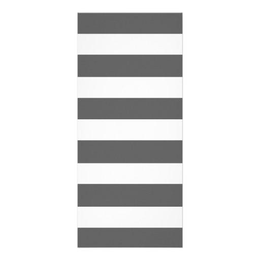 O branco cinzento moderno de carvão vegetal listra modelo de panfleto informativo