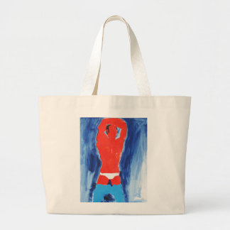 O branco informa o saco de calças de ganga bolsas para compras