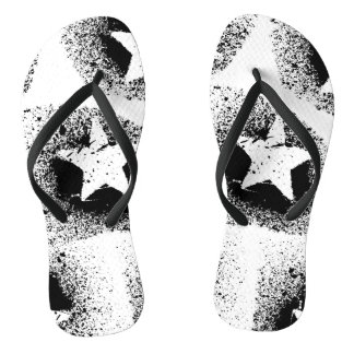 O branco Stars chinelos