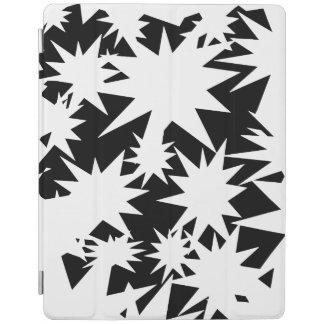 O branco Stars o cobrir esperto do iPad Capa Smart Para iPad