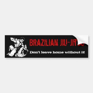 O brasileiro Jiu-Jitsu, não sae em casa sem ele! Adesivo Para Carro