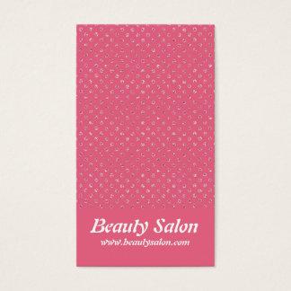 O brilho cor-de-rosa pontilha os cartões de