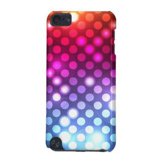 O brilho feminino moderno ilumina a capa do ipod