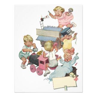 O brinquedo da festa de aniversário da criança do