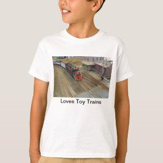 O brinquedo dos amores treina a camisa