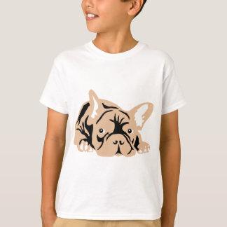 O buldogue francês aumentou camiseta