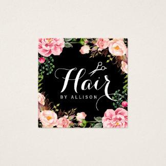 O cabeleireiro do cabeleireiro Scissors o Cartão De Visitas Quadrado