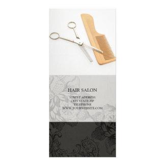 O cabeleireiro presta serviços de manutenção à tab panfletos informativos personalizados