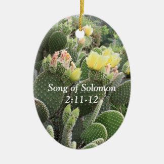 O cacto floresce a canção do ornamento de Solomon