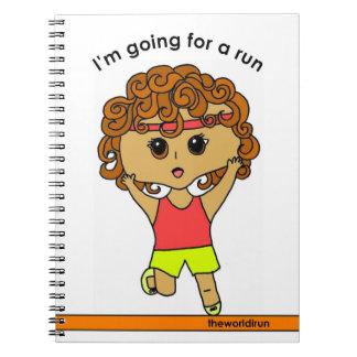 O caderno #2 do corredor