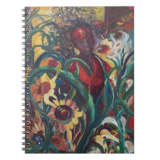 O caderno da mulher do girassol