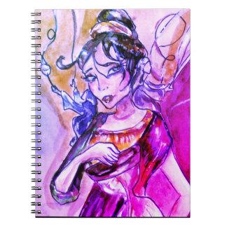 O caderno de 3 destinos