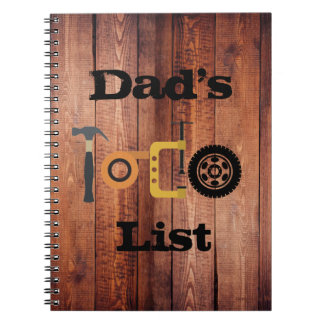 O caderno do pai
