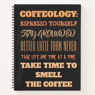 The Coffee Spiral Notebook