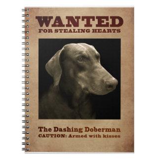 O caderno galhardo do Doberman
