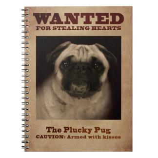 O caderno valente do Pug