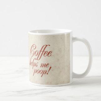 O café ajuda-me tombadilho! caneca