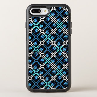 O café azul dos copos de café agride o design da capa para iPhone 7 plus OtterBox symmetry