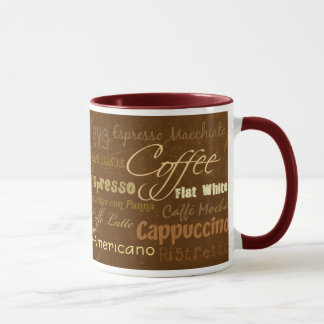 O café bebe a caneca
