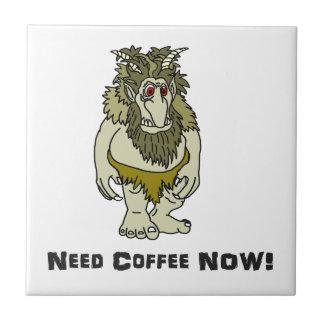 O café da necessidade pesca à linha agora